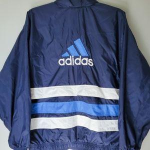 Vtg Adidas running jacket size Xl